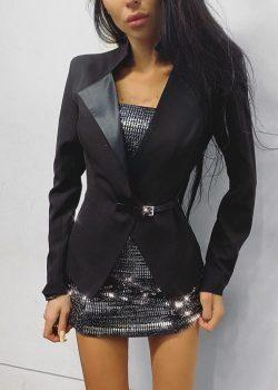 Пиджак 2020-110 Black