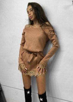 Платье-туника 2020-113 Bej