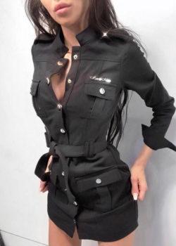 Платье 2021-226 Black
