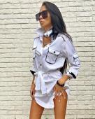 Платье-рубашка 221-white (2)
